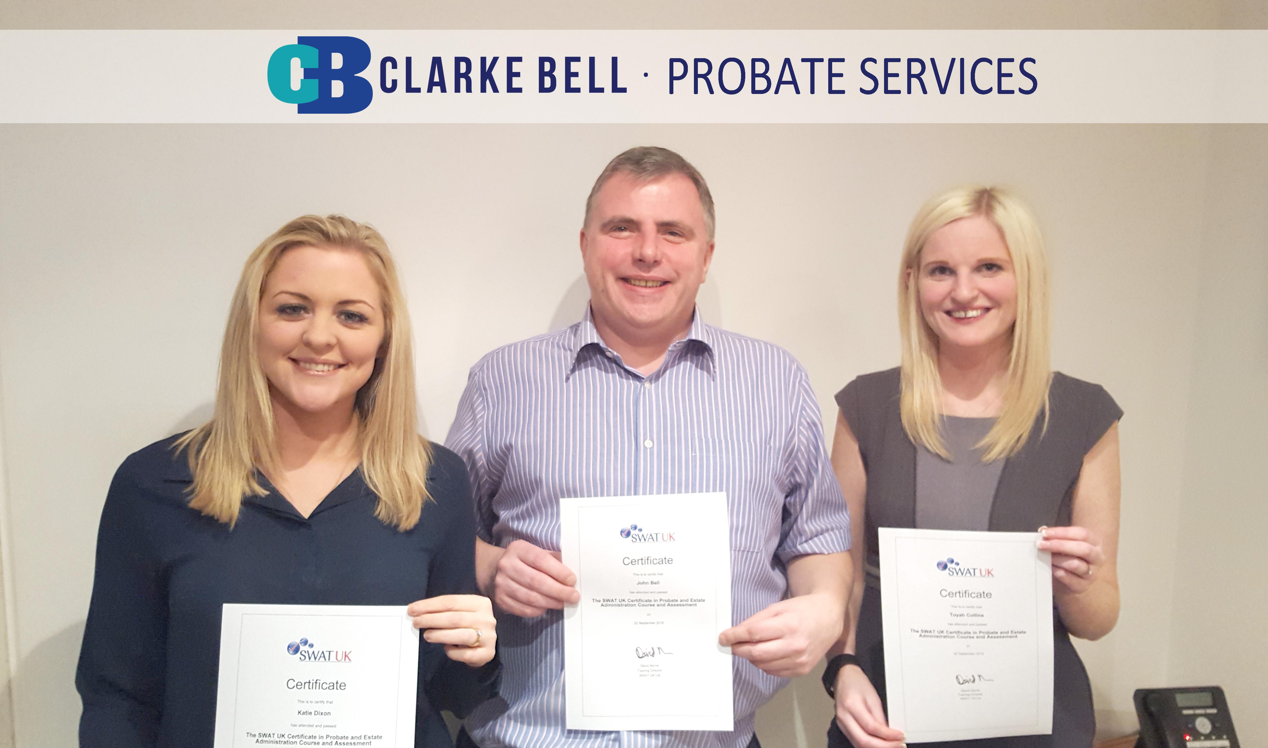 clarke bell probate service