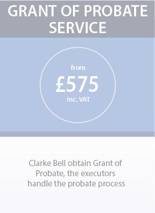 Grant of probate service