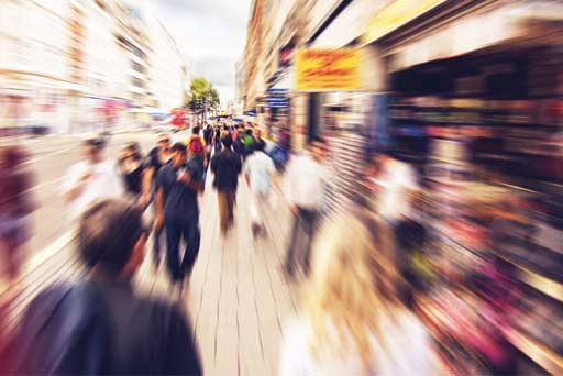 What does the future hold for the struggling high street?