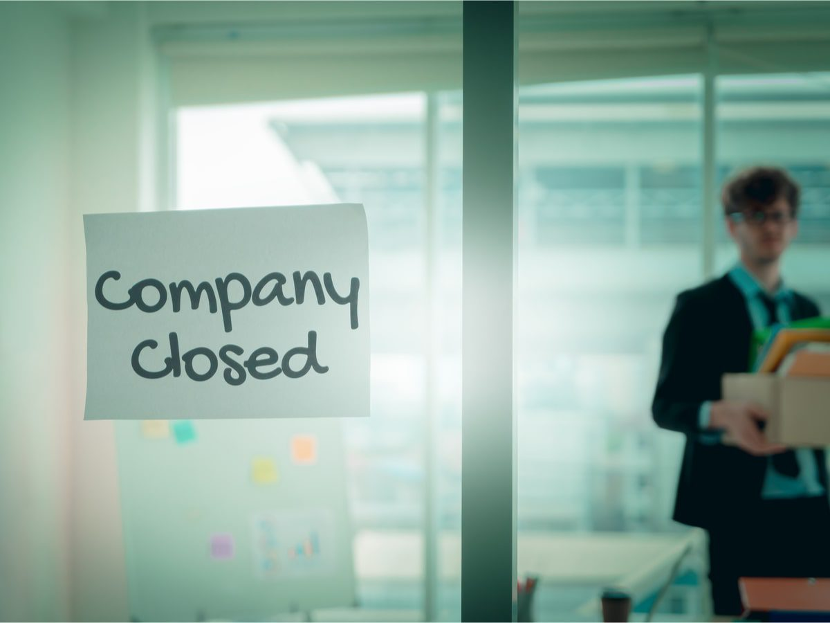 liquidate a company